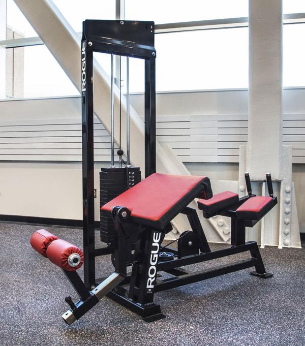 Rogue Fitness Prone Leg Curl Machine