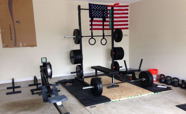 Crossfit garage gym equipment essentials for your home gym