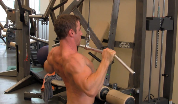 Free-weight alternatives for the Lat Pulldown