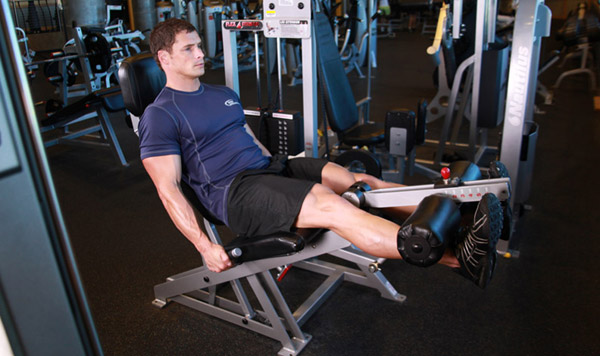 Free-weight alternatives to the leg extension machine