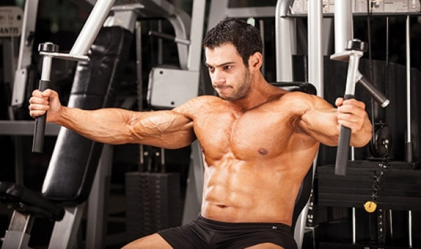cable crossover machine shoulder exercises
