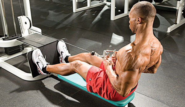 Free-weight alternative exercises to the seated cable row