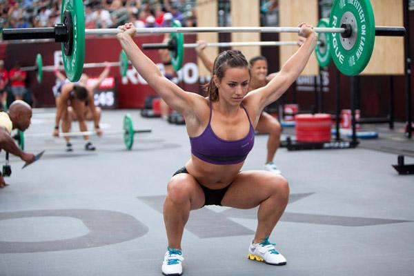 Camille LeBlanc-Bazinet 2014 CrossFit Games Women's Fittest