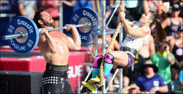 Crossfit games champions used rogue games gear