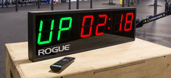 The Rogue Echo Gym Timer