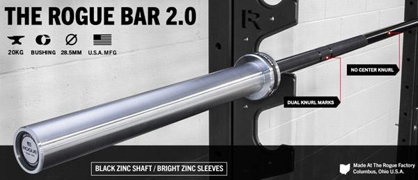 The Rogue Bar 2.0 - The original, innovated