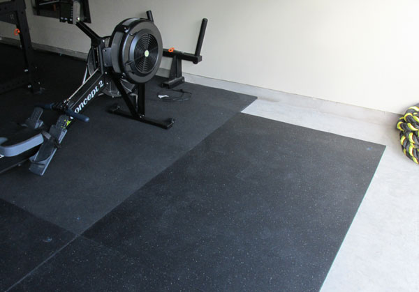 Flooring for garage gym excellent iron company recycled