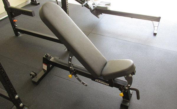 Legend Adjustable Bench Review - My Legend Adjustable Bench at 45 degrees incline