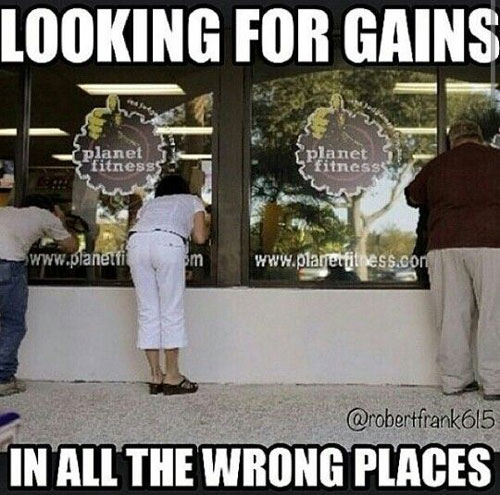 Looking for Gains #PF