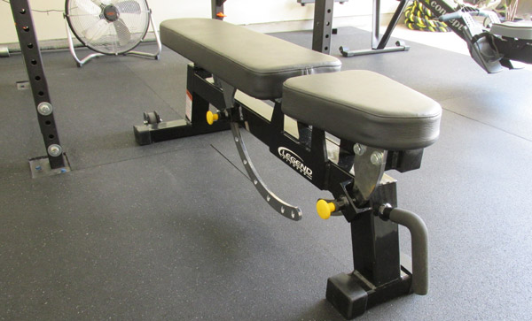 My black on black Legend adjustable bench
