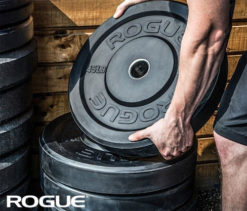 Advertisement - Rogue has the largest bumper plate selection ever... seriously