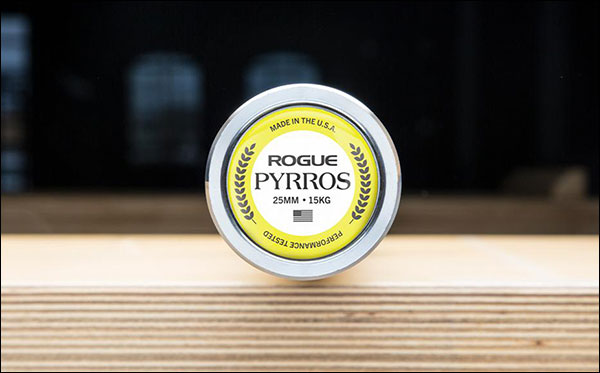 The 15 kg Rogue Pyrros Bar