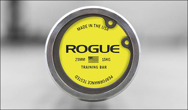 Rogue Women's 25 mm Training Bar
