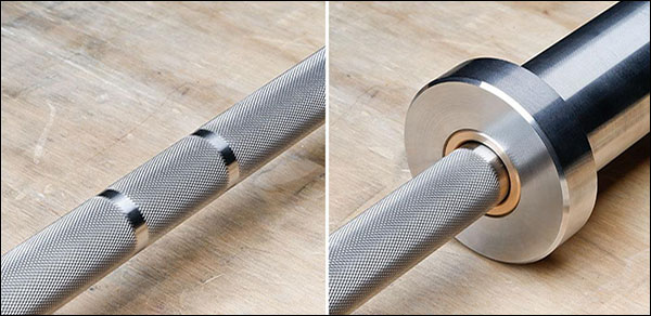 Burgener & Rippetoe bare steel women's barbell