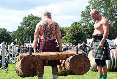 Strongman Intensity - I'll bet these men don't do a lot of cardio @strongman