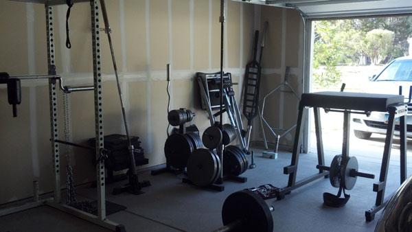 The T-Nation Forum Garage Gym