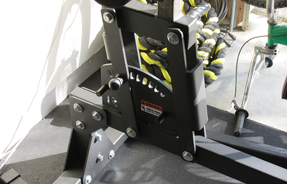 Abrams 2.0 Swing-Arm mechanism - new for the 2.0