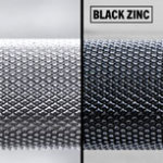Ohio Bar knurling and finish options