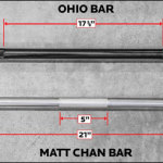 Ohio knurling versus Chan knurling