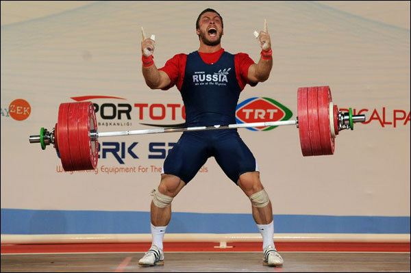 New Dmitry Klokov Barbell