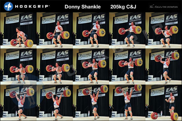 Hookgrip Olympic WL Sequence Posters