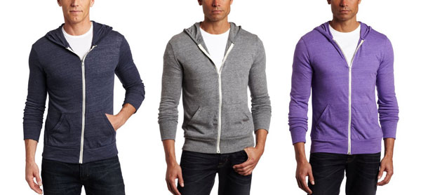 Thinner, layering hoodies that offer some warmth, but also range of motion in the gym