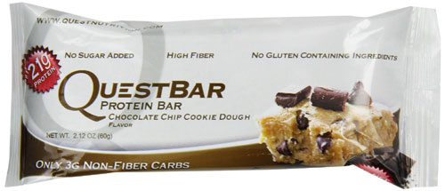 Gift Ideas for CrossFitters and Weightlifters - Cookie Dough Quest Bar by the case.