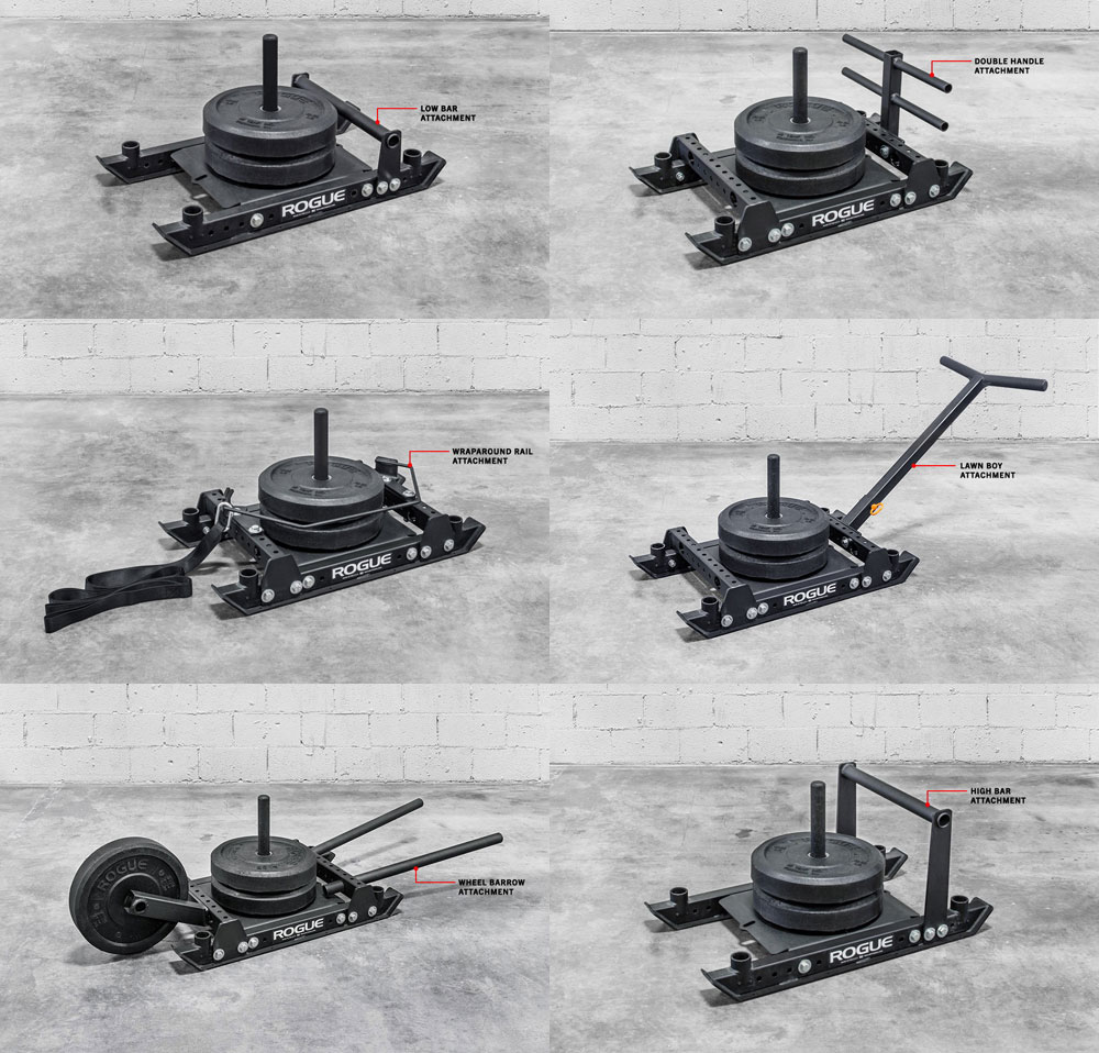 The many configurations of the Rogue Dog Sled 1.2
