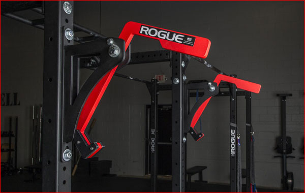 The new Rogue Monolift rack attachment