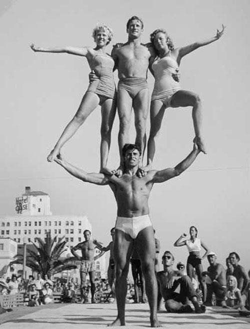 Vintage muscle beach strongman #vintage #strongman