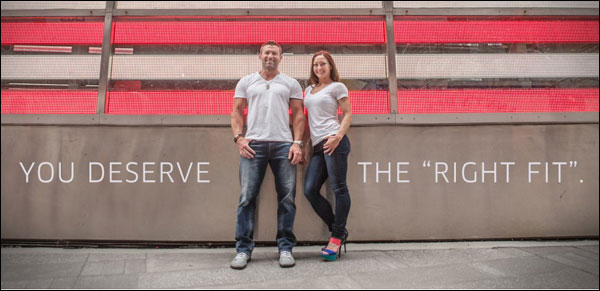 Relentless Jeans for the thick thighed athlete