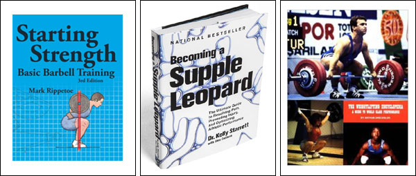 Weight training and Fitness Books