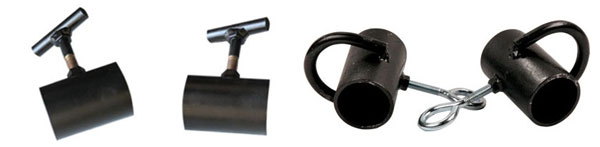 Raw pipe Strongman collars