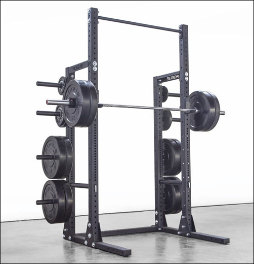 The Rogue HR-2 Half Rack, Monster Lite rack