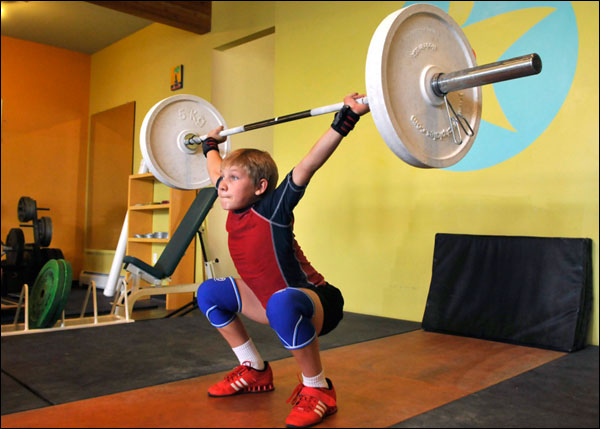 Youth athletes use tech plates for a good amount of time