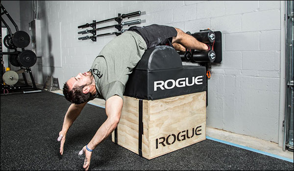 "Froning busting moves on the 3""x3"" Rogue Echo GHD"