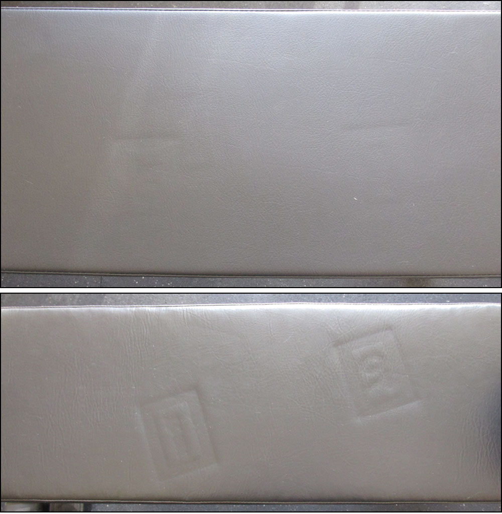 Demonstration of bench cushion firmness