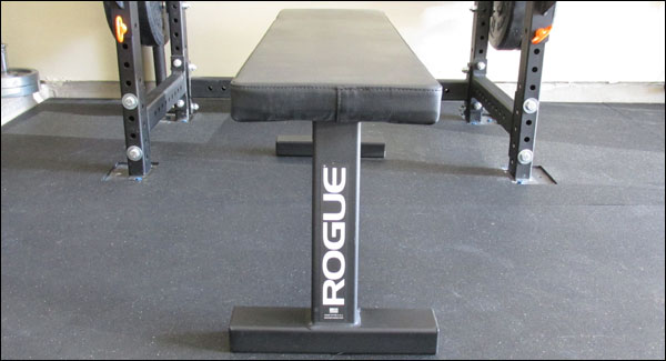 Front view of the Rogue Flat Utility Bench 2.0