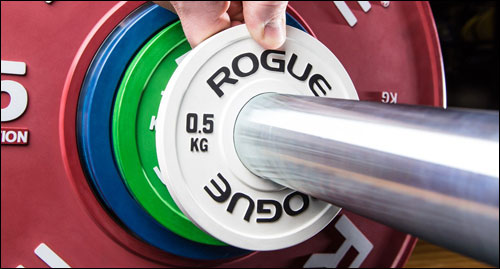 Rogue new Kilogram Change Plates
