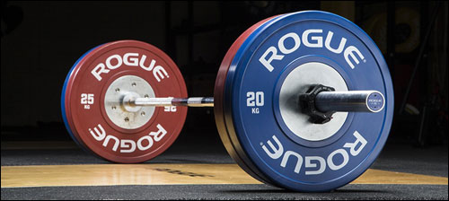 Rogue Training Bumper Plates 2.0