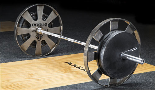 The Rogue Wagon Wheel for Deadlifting