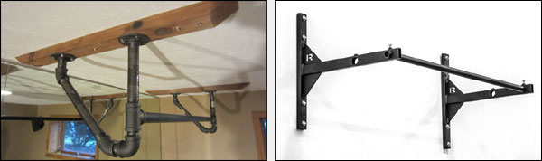 Pull-up bar options for your garage gym