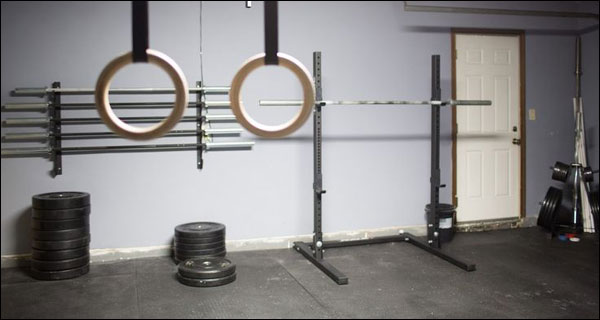 Building a garage gym on a budget