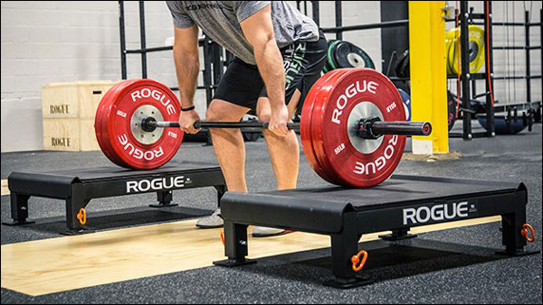 Rogue's Metal Pulling Blocks, available in two sizes
