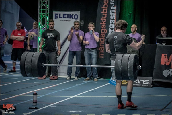 Victor Langsved at the MK Open with Eleiko XF