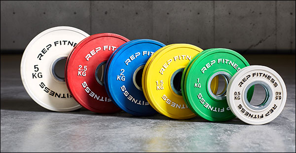 Rep Fitness Kilogram Change Plates