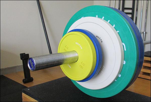 Vulcan V-Lock Rubber Change Plates