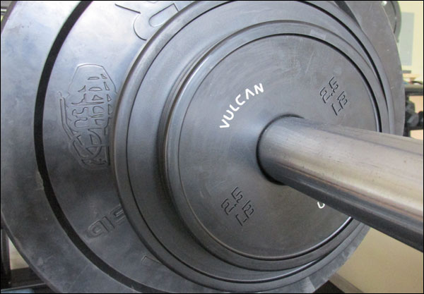 Vulcan V-Lock Change Plates, in pounds