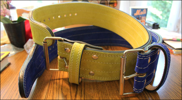 Best Belts Lifting Belts in 10mm or 13 mm