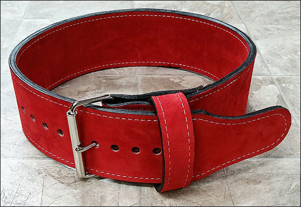 Pioneer 10mm / 10cm Double Suede Lifting Belt